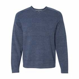 Weatherproof Vintage Denim V-Neck Cotton Sweater