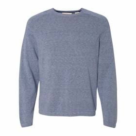 Weatherproof Vintage Denim Crewneck Cotton Sweater