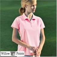 Willow Pointe | WP Ladies Willowtec Performance Mesh Polo Shirt