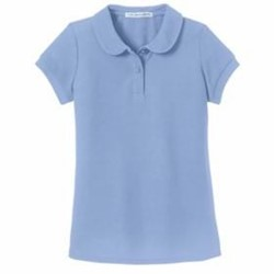 Port Authority | Port Authority GIRLS Peter Pan Collar Polo