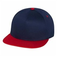 Yupoong | Yupoong Five Panel 2-Tone Flat Bill Cap