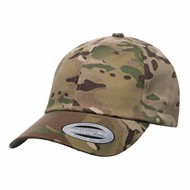 Yupoong | Low Profile Cotton Twill Multicam Hat