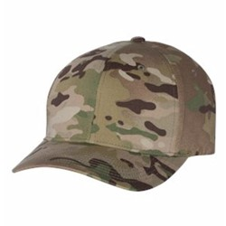 Yupoong | Flexfit - Cotton Blend CAMO Cap