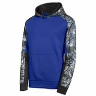 Sport-tek | Sport-Tek® Youth Mineral Freeze Colorblk Hoodie