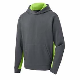 Sport-Tek YOUTH Sport-Wick Hooded Pullover