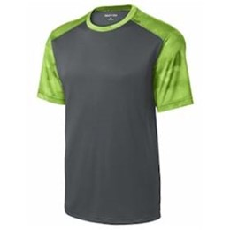 Sport-tek | Sport-Tek YOUTH CamoHex Colorblock Tee