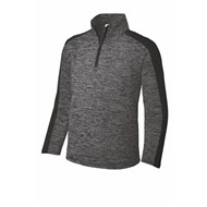 Sport-tek | Sport-Tek® Youth Electric Heather 1/4-Zip Pullover