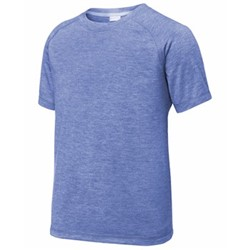 Sport-tek | Sport-Tek YOUTH Tri-Blend Wicking Raglan Tee