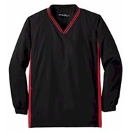 Sport-tek | Sport-Tek YOUTH Tipped V-Neck Raglan Wind Shirt