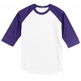 Sport-Tek Youth Colorblock Raglan