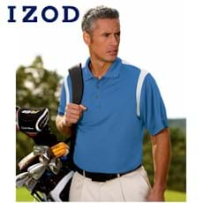 IZOD Contrast Color Body Mapping Polo